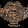 """Galeazzo Mondella detto """"Moderno"""" (1467- ante 1528) Trofeo militare con Vittorie, 1500 ca."""