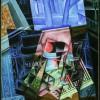 Juan Gris (José Victoriano Gonzàlez Pérez) Still Life before an Open Window, Place Ravignan, 1915 - Philadelphia Museum of Art, The Louise and Walter Arensberg Collection, 1950