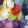 Frank (Frantisek) Kupka, Disks of Newton (Study for Fugue in Two Colors), 1912 olio su tela – cm 100,33 x 73,66 Philadelphia Museum of Art, The Louise and Walter Arensberg Collection, 1950