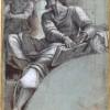 Sebastiano del Piombo_Un angelo si rivolge al profeta_ 1516-1517_Donato da Robert H. e Clarice Smith_La Poesia della Luce Disegni Veneziani dalla National Gallery of Art di Washington 6 dicembre 2014 - 15 marzo 2015 Museo Correr Venezia