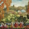 Sergej Sudejkin_Estate di San Martino(Bab'e leto), 1916 Mosca, Galleria di Stato Tret'jakov
