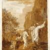 Giandomenico Tiepolo Cristo conduce Pietro, Giacomo e Giovanni sull'alta montagna 1785/1795