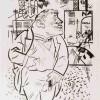 George Grosz The Boss, 1922 Fotolitografia, cm 57,6 x 42,6 Los Angeles County Museum of Art, the Robert Gore Rifkind Center for German Expressionist Studies © George Grosz, by SIAE 2015- Estate of George Grosz; Photo © Museum Associates/LACMA
