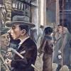 George Grosz German, 1893 – 1959 Street Scene (Kurfürstendamm) [Strassenszene (Kurfürstendamm)], 1925 Oil on canvas 81.3 × 61.3 cm Museo Thyssen-Bornemisza, Madrid © George Grosz, by SIAE 2015 - Estate of George Grosz