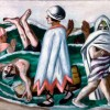 Max Beckmann Lido, 1924 Olio su tela, cm 72.4 x 90.5 Saint Louis Art Museum, Bequest of Morton D. May, © Max Beckmann by, SIAE 2015