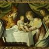 Jacopo Tintoretto Presentazione di Gesù al Tempio con San Giovanni Battista, 1540 - c.a Olio su tela, cm 95 x 123 Verona, Museo di Castelvecchio © Archivio fotografico del Museo di Castelvecchio/ foto Umberto Tomba